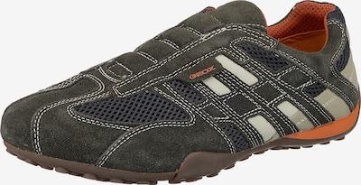 GEOX Sneaker in nachtblau / basaltgrau / weiß, Produktansicht