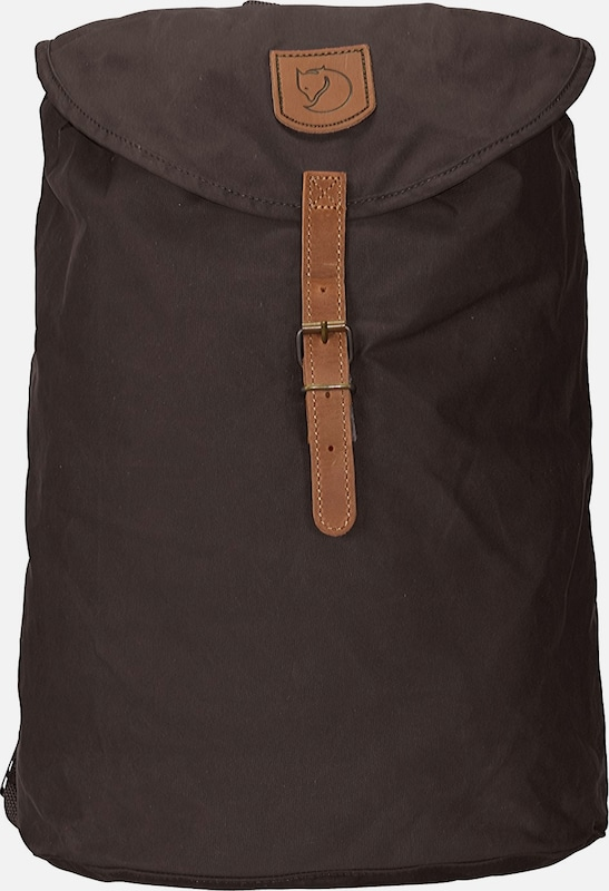 Fjällräven Greenland Backpack Small Rucksack 38 cm in braun: Frontalansicht