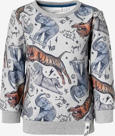NAME IT Sweatshirt in hellgrau / mischfarben, Produktansicht