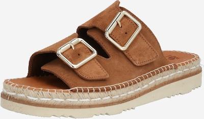MACARENA Sandale 'AZOR1' in beige / dunkelbraun, Produktansicht