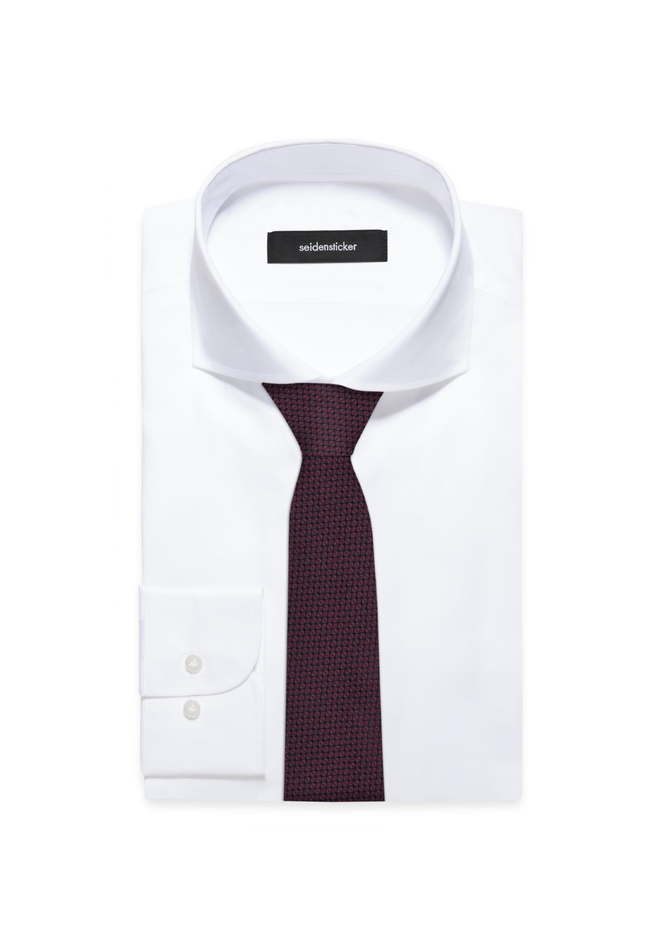 Seidensticker DunkelrotSchwarz Krawatte Seidensticker In Krawatte In DunkelrotSchwarz xBoCed