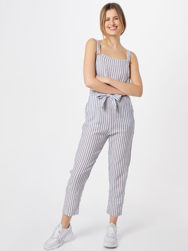 ROXY Overall 'ANOTHER YOU' in blau / weiß, Modelansicht