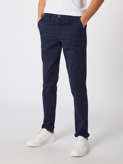 Pantaloni eleganți 'NOOS - JJIMARCO JJBOWIE SA NAVY BLAZER NOOS' JACK & JONES pe navy, Vizualizare model