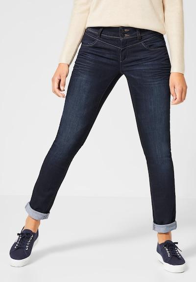 STREET ONE Jeans 'Jane' in dunkelblau, Modelansicht