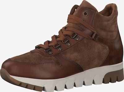 TAMARIS Sneaker in braun / dunkelbraun, Produktansicht