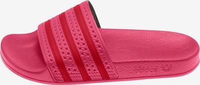 ADIDAS ORIGINALS Plážové / kúpacie topánky 'Adilette W' - ružová / tmavočervená, Produkt