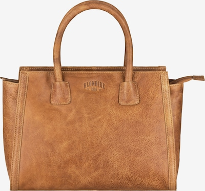 KLONDIKE 1896 Handtasche 'Clara' in braun, Produktansicht