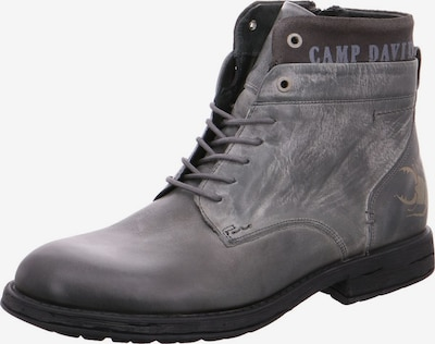 CAMP DAVID Stiefel in grau, Produktansicht