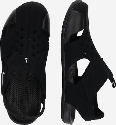 Nike Sportswear Sandale 'Sunray Protect 2' in schwarz / weiß: Seitenansicht