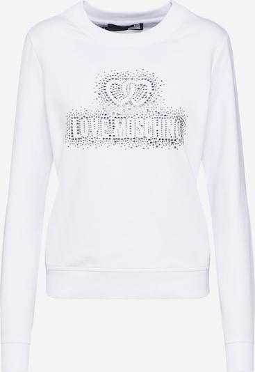 Love Moschino Sweatshirt 'W630215E2139' in weiß, Produktansicht