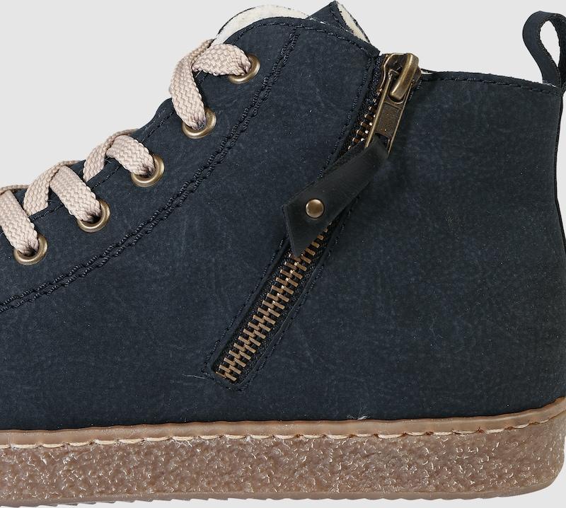 RIEKER Sneaker High High High in Leder-Optik 1d523d