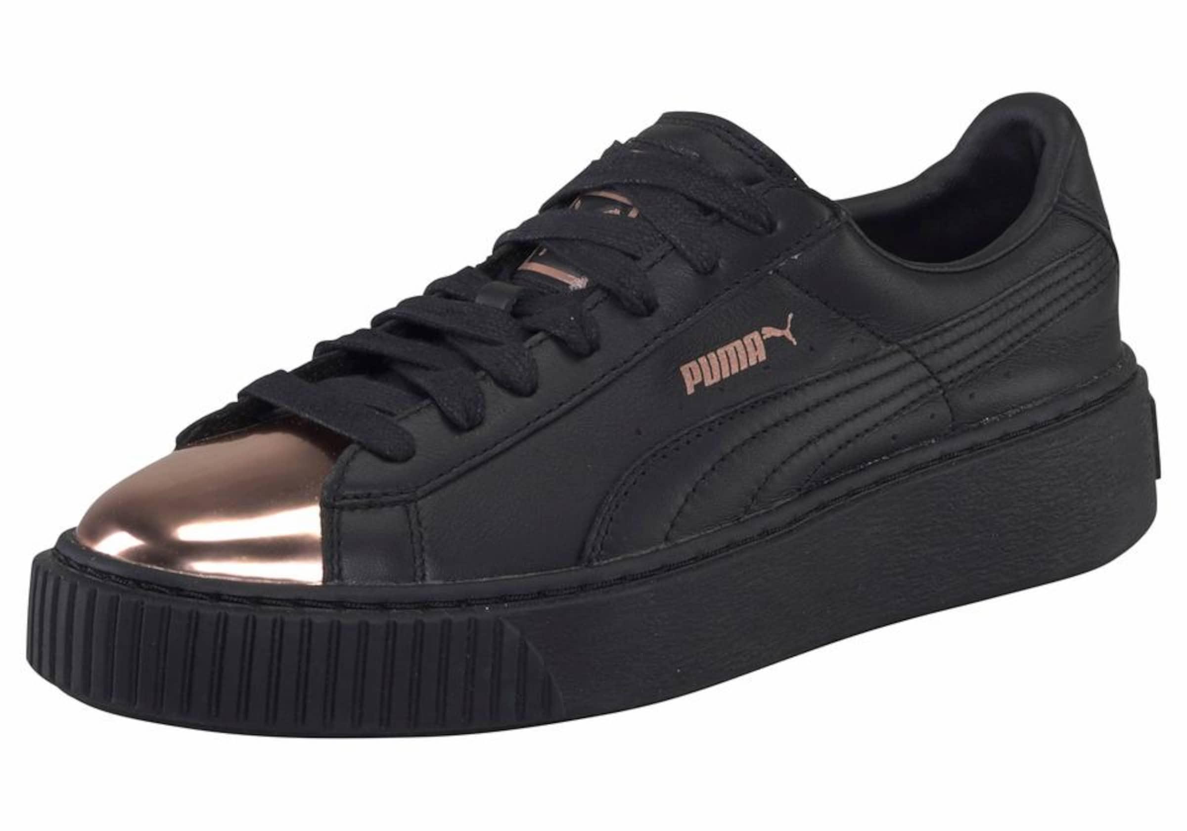 PUMA Sneaker »Basket Platform Metallic«