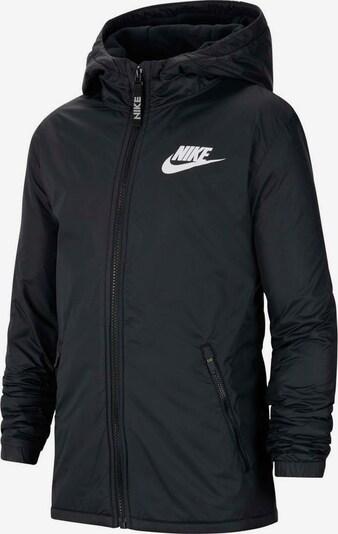 Nike Sportswear Langjacke 'NIKE SPORTSWEAR JACKET FLEECE LINED' in schwarz, Produktansicht