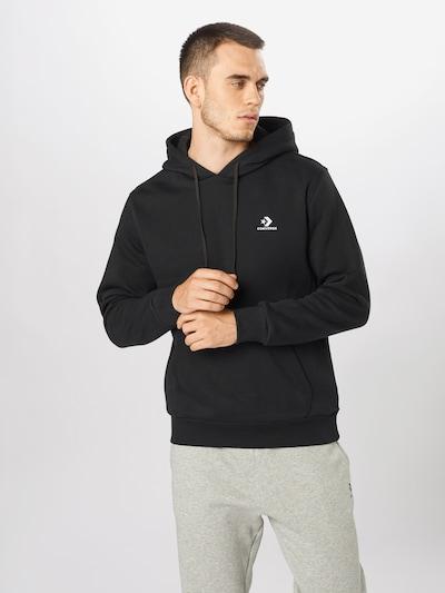 CONVERSE Majica | črna barva, Prikaz modela