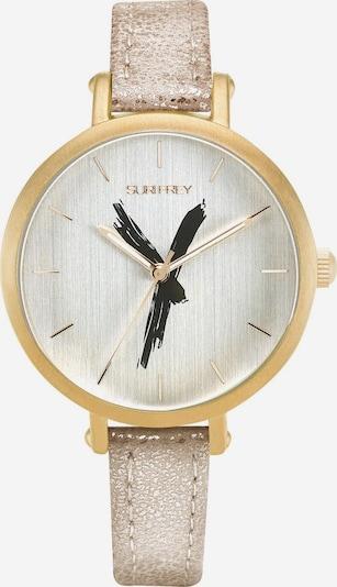 Suri Frey Analoog horloge 'Britney' in de kleur Goud / Zwart / Zilver, Productweergave