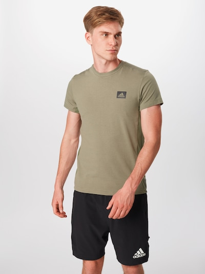ADIDAS PERFORMANCE T-Shirt fonctionnel 'Motion' en kaki: Vue de face