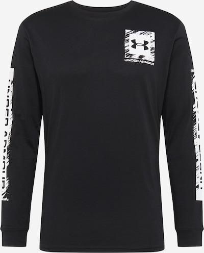 UNDER ARMOUR Sweatshirt in schwarz / weiß, Produktansicht