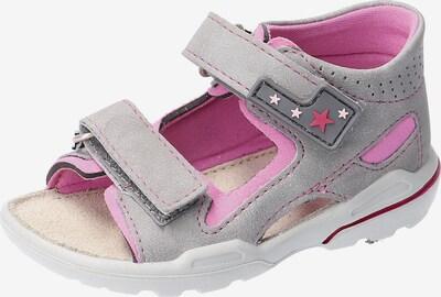 Pepino Sandale in grau, Produktansicht