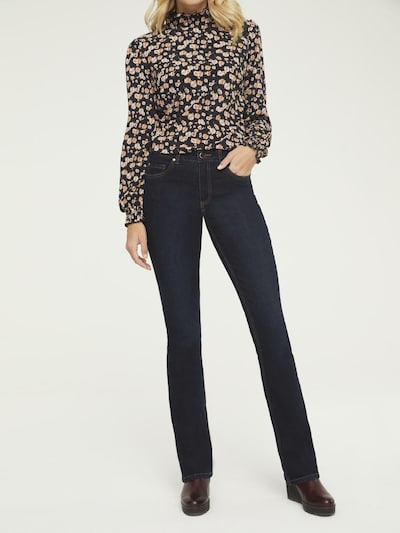 heine Jeans 'Amirela' in de kleur Blauw denim, Modelweergave
