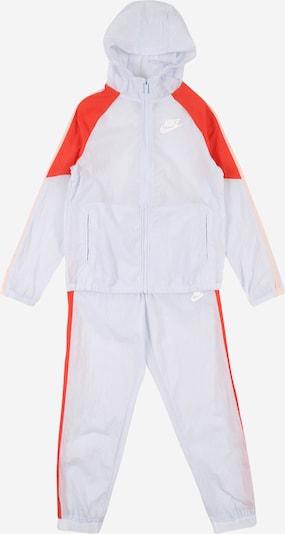 Nike Sportswear Trainingsanzug in rot / weiß, Produktansicht