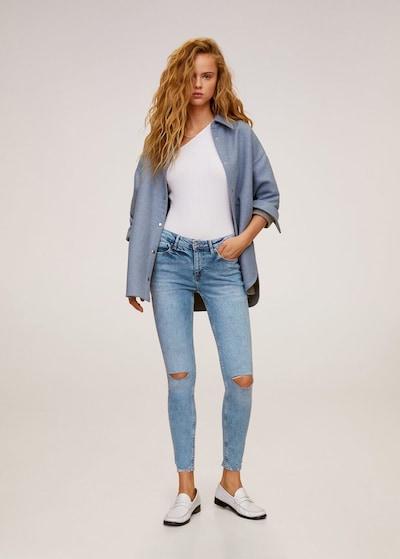 MANGO Jeans 'Kim' in hellblau: Frontalansicht