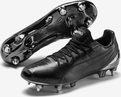 PUMA Fußballschuh 'King Platinum' in schwarz / weiß, Produktansicht