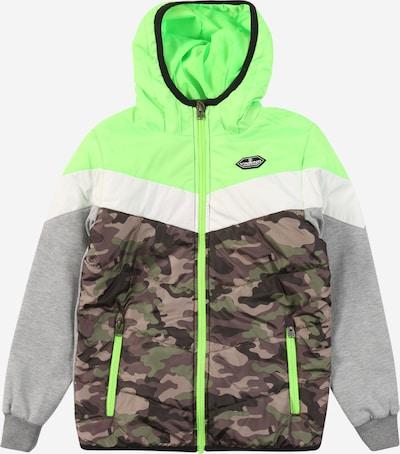 VINGINO Prehodna jakna 'Tamsiro'   siva / neonsko zelena barva, Prikaz izdelka