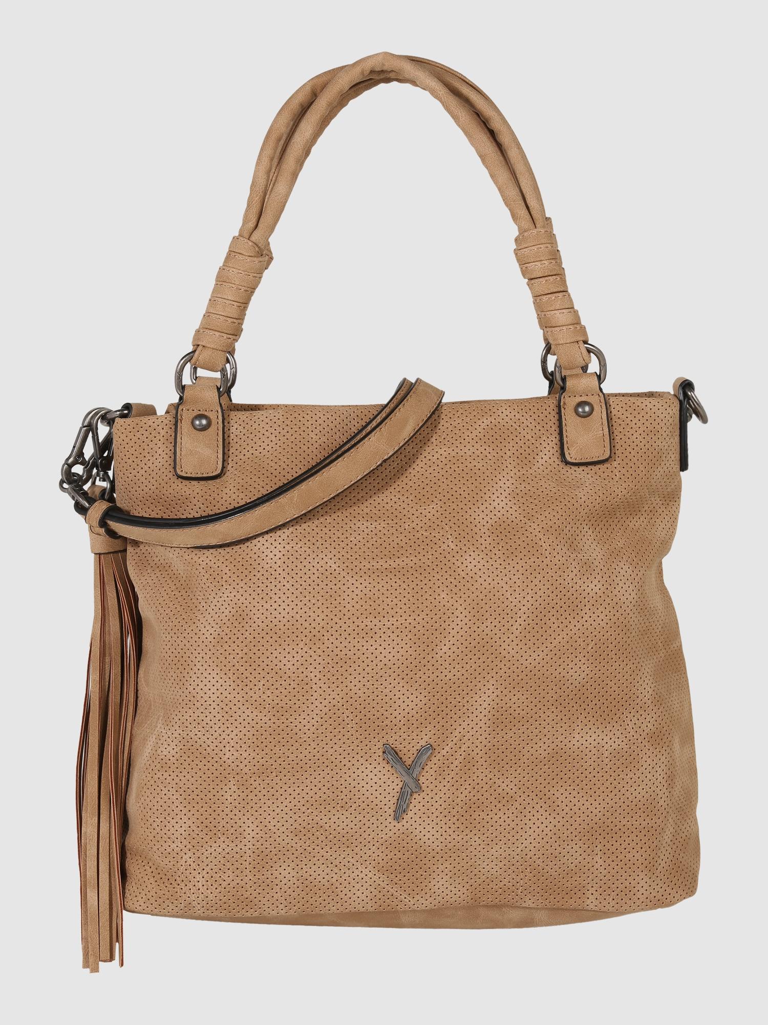 suri frey handtasche mit tassel 39 romy 39 in braun about you. Black Bedroom Furniture Sets. Home Design Ideas
