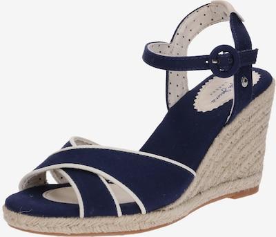 Pepe Jeans Sandale 'Shark Plain' in dunkelblau, Produktansicht