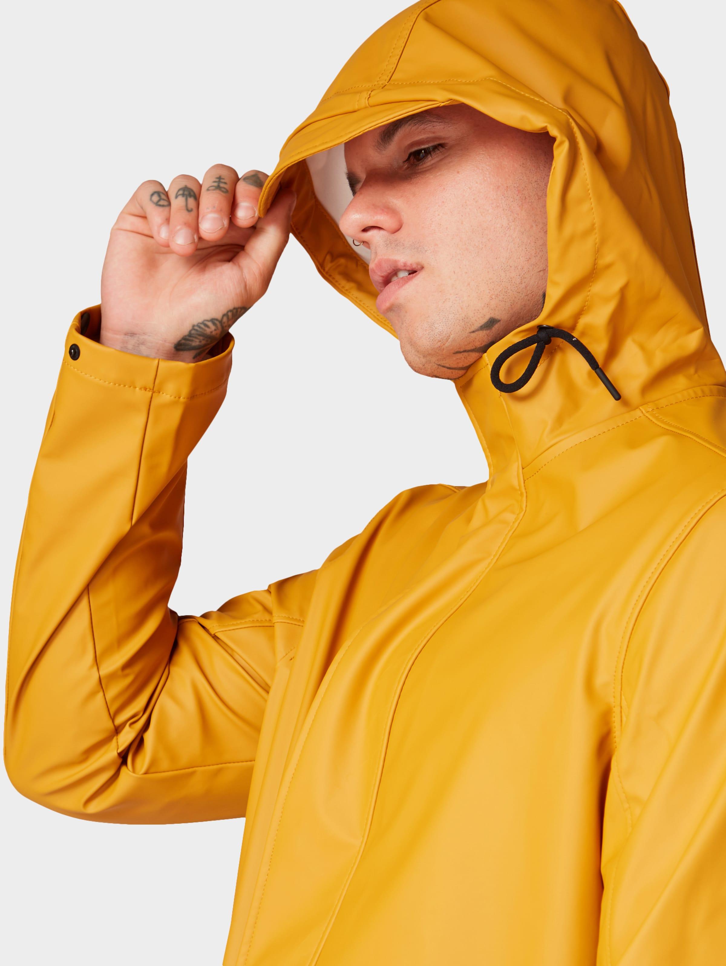 Tailor In Regenjacke Denim Goldgelb Tom E9WDI2H