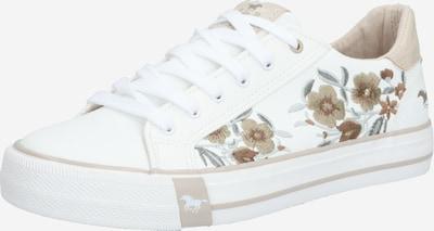 MUSTANG Sneaker in beige / weiß, Produktansicht