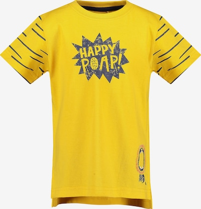 BLUE SEVEN Shirt in dunkelblau / gelb, Produktansicht