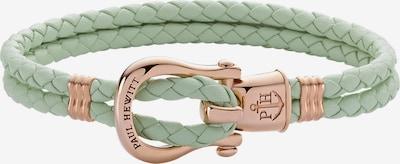 Paul Hewitt Armband in rosegold / mint, Produktansicht