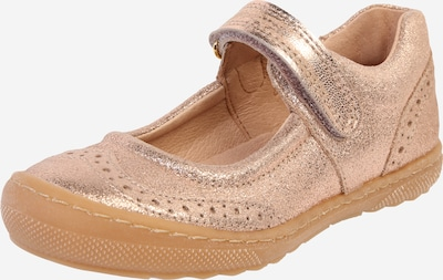 BISGAARD Ballerines 'rain' en or rose, Vue avec produit