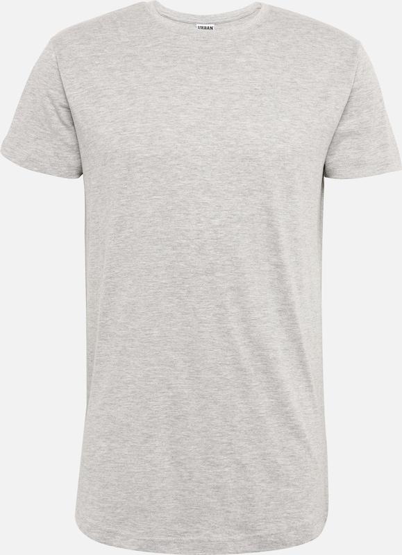 shirt T Long Classics 'shaped Urban Gris Tee' En Chiné tshQCrdx