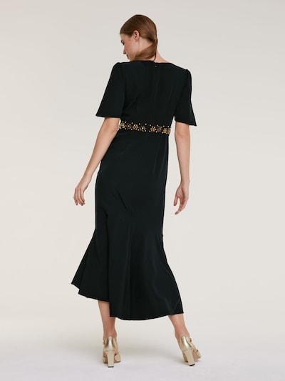 heine Suknia wieczorowa w kolorze czarnym: Widok od tyłu