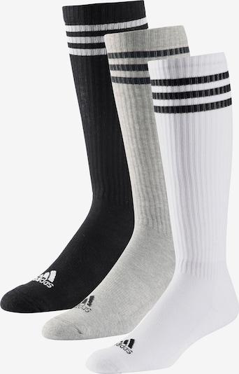 ADIDAS PERFORMANCE Socken in grau / schwarz / weiß, Produktansicht