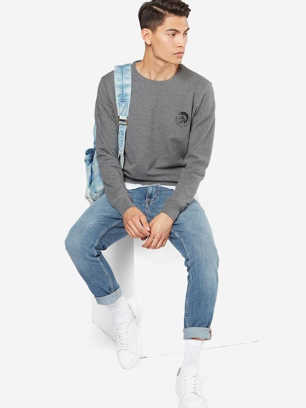 DIESEL Sweatshirt 'UMLT - Willy' mit Marken-Print