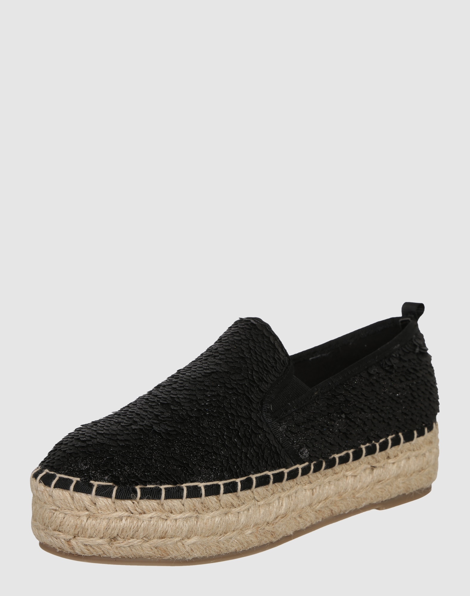 steve madden espadrilles 39 poppi 39 in schwarz about you. Black Bedroom Furniture Sets. Home Design Ideas