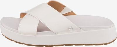 UGG Plateau-Pantoletten in weiß, Produktansicht