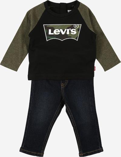 LEVI'S Set in oliv / schwarz / weiß, Produktansicht