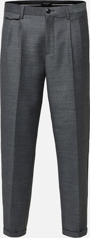 SELECTED HOMME Hose in grau, Produktansicht