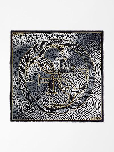 GUESS Schal 'Kufiya' in basaltgrau / schwarz / weiß, Produktansicht