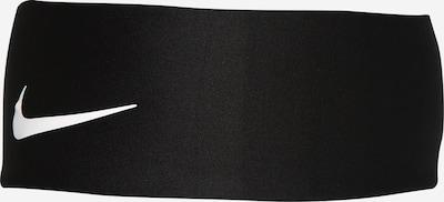 NIKE Accessoires Sportpannband 'Fury' i svart / vit, Produktvy