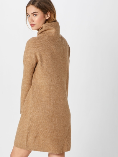 ONLY Strickkleid in camel: Rückansicht