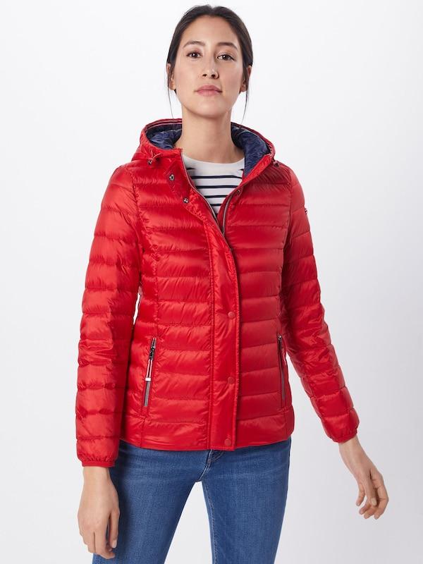 'rds En Veste Rouge Down' Esprit D'hiver l3TK1JFc