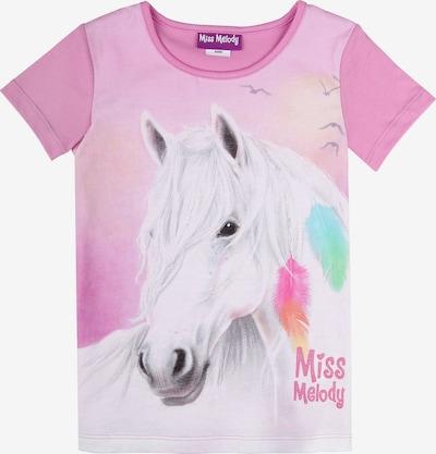 Miss Melody T-Shirt in mischfarben / pink, Produktansicht