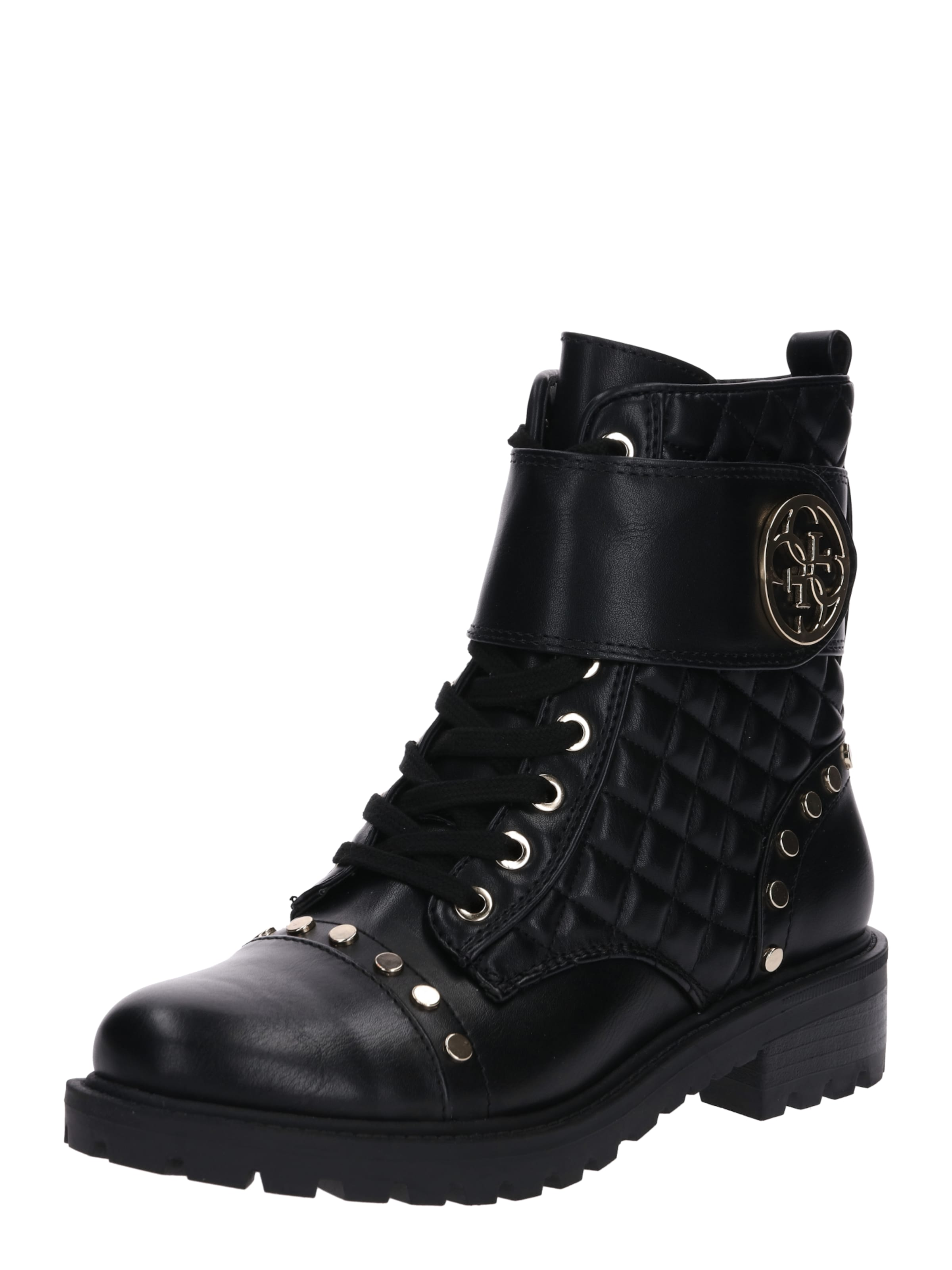 Lea10' Schwarz In 'fl7hea Guess Boots jqARSc543L