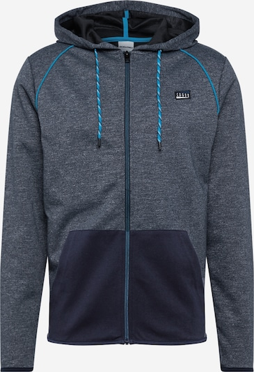 JACK & JONES Sweatjacke in dunkelblau, Produktansicht