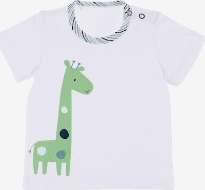 STERNTALER Shirt 'Giraffe' in marine / taubenblau / hellgrün / weiß, Produktansicht